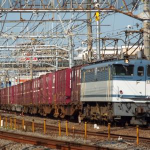 鎌倉踏切 5086レ EF65 2094