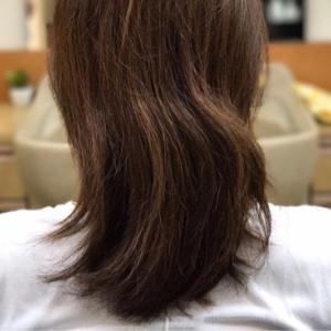 髪のくくりグセ問題〜括れる長さ編〜