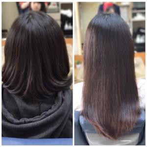 髪のくくりグセ問題〜髪の厚み編〜