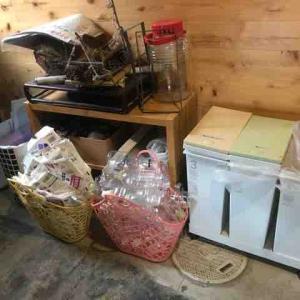 ゴミ箱再考と土間。