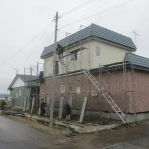 北斗市で屋根の塗装工事して来ました。