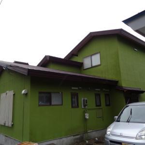 函館市内で塗装工事をしました。