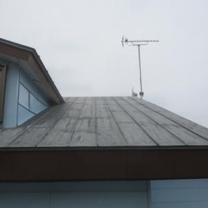 リホーム工事の続き屋根のトタン