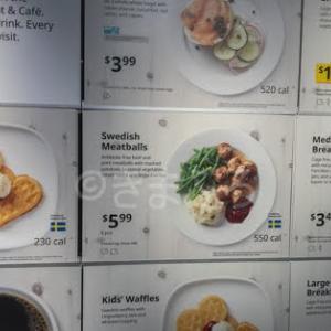 IKEAの食事はコスパに優れた朝食だった!!