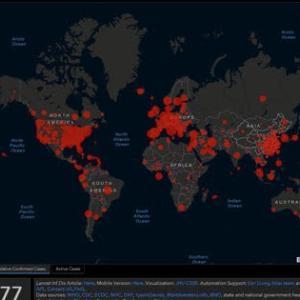 ついにアメリカのCOVID-19感染者がトップ。 その数10万人以上