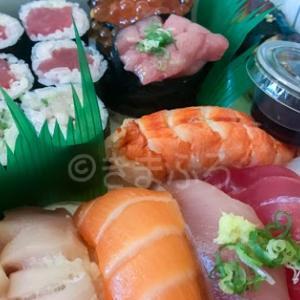 一時期ランチで良く利用させていただいた店でお寿司の持ち帰り