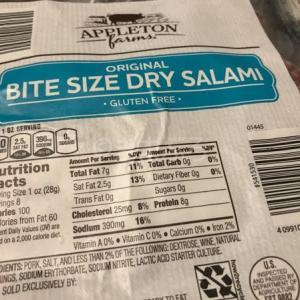 サラミってものによって味が違うよね