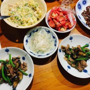 夏野菜たっぷりメニュー
