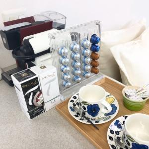 サロンでのお茶や北欧食器について