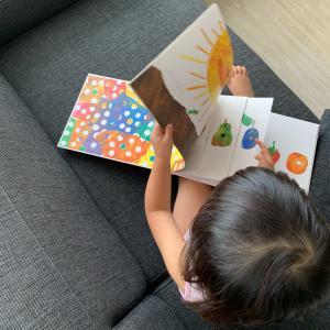 2歳3ヶ月♡はらぺこあおむし&好きな絵本