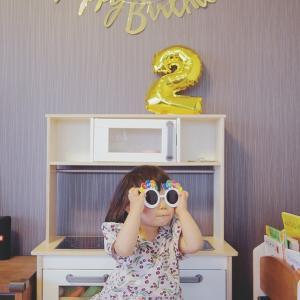2歳♡2歳誕生日記録