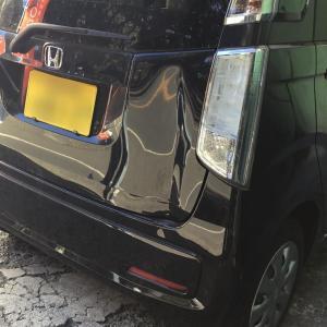 N-WGN 鈑金塗装バンパー修理