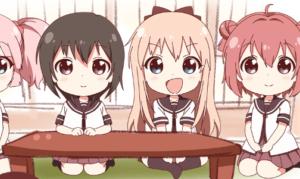 ゆるゆり10周年記念で誕生したショートアニメ「みにゆり」が登場!