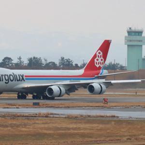 A320neoとB748Fのコラボ