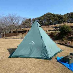 今年初キャンプはソロキャン