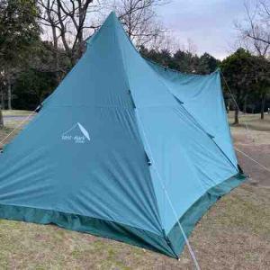 今週もエコパーク論所原でキャンプ