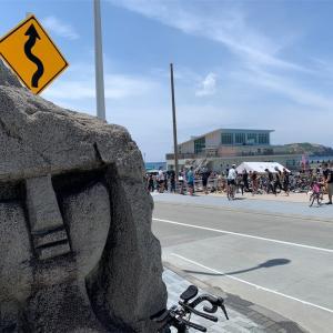 新島トライアスロン2019 絶景バイク