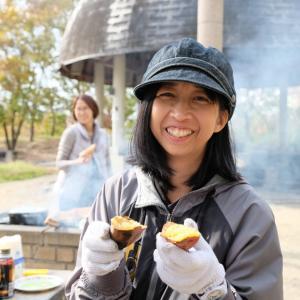 女子キャンプで焼き芋!第2回も楽しく終了しました!