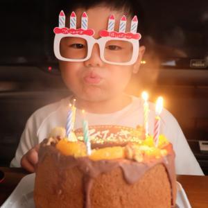 お誕生日おめでとう!ふ~っ!の写真を練習したいなぁと思っていたら・・・