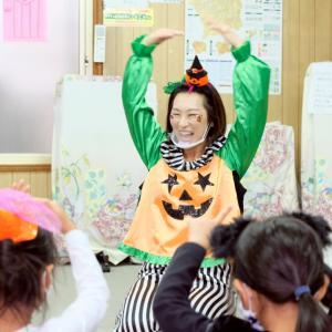 【撮影無料】英語リトミック教室のハロウィンパーティーを撮影してきました!