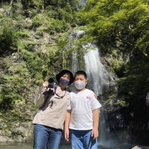 【子どもとおでかけ情報】箕面大滝と勝尾寺に行ってきました!