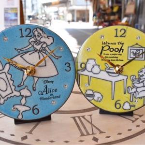 ディズニーと、イタリア陶器時計「ザッカレラ」がコラボレーションです!