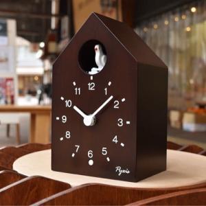 セイコーから、小ぶりでモダンな「かっこう時計」が届きました。