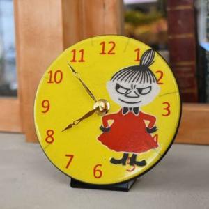 イタリア陶器時計「ザッカレラ」ムーミンシリーズは、リトルミイが大好評です!
