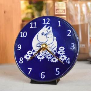 ムーミン一家とコラボした陶器時計「ザッカレラ」ムーミンとスノークのお嬢さんが届きました。