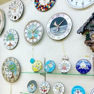 イタリア陶器時計「ザッカレラ」のミニ展示会を開催します。