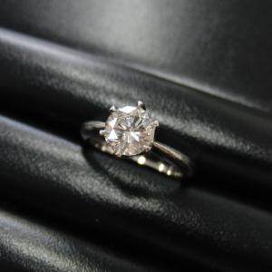 プラチナのダイヤリングお買取りいたしました。