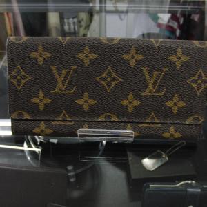 LV Louis Vuitton ルイヴィトンのモノグラム長財布お買取りいたしました。
