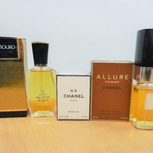 香水・コスメ シャネルやゲランなど使いかけでもお買取りしています。奈良市西大寺 お宝本舗