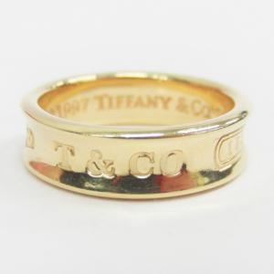 TiffanyのK18リングをお買取り♡ブランドジュエリー高価買取中(´▽`)お宝本舗 西大寺店