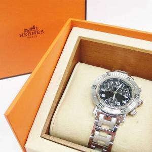 エルメスの腕時計クリッパーダイバーズをお買取りしました♡♡('ω')お宝本舗 大和西大寺店
