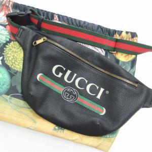 GUCCI(グッチ)のレザーボディバッグを高価買取しました♡(・ω・)ノお宝本舗 大和西大寺店