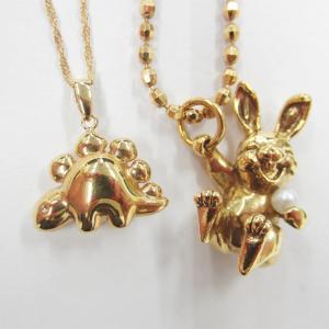 かわいいモチーフのネックレスお買取り♥デザイン性も考慮した高額査定なら('ω')ノお宝本舗西大寺