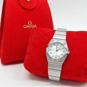 オメガの腕時計コンステレーション♥ブランド時計を高く売るなら!(・ω・)ノお宝本舗西大寺店