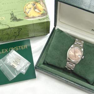 ロレックスを高額買取!使う機会の少ないブランド時計売って下さい♥(^<^)お宝本舗 大和西大寺店