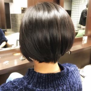 人気の長めのショートヘア