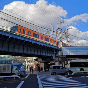 阪神野田付近です