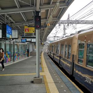 淀川駅に移動です