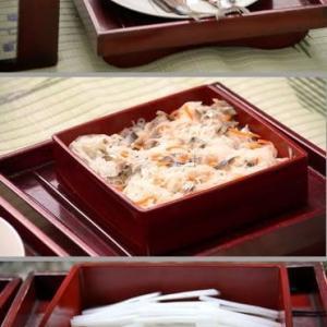 神酒披露目 はんき(飯器?)の式料理