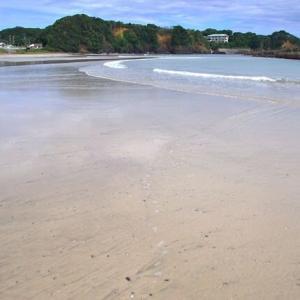 広い大きな渚