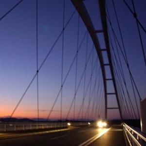 たそがれの志摩大橋