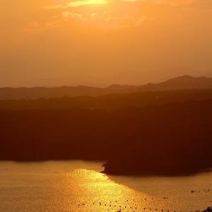 素晴らしい夕陽