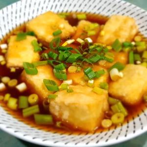 またまたノンフライヤー:揚げ出し豆腐その他