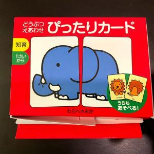 知育玩具「絵合わせカード」2社を比較