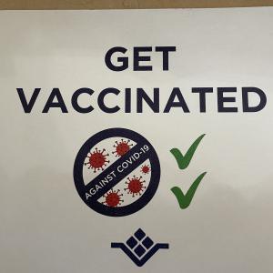 ワクチン1回目接種完了!
