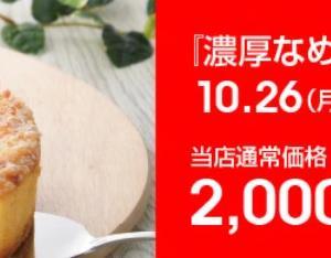 【27日9:59まで】濃厚チーズケーキがお得♡400円引き&まとめ買いで500円引き